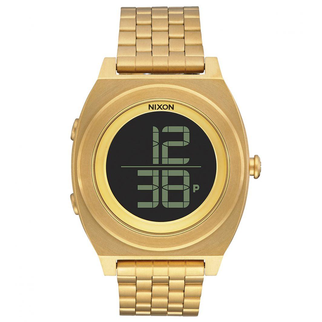 Nixon Time Teller Digi Ss Gold Stainless Steel Bracelet A948-502-00