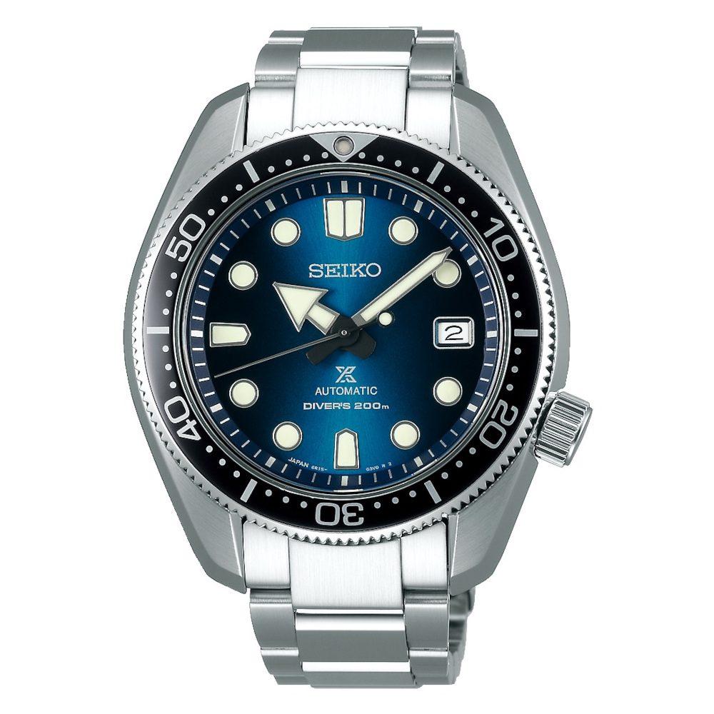 Seiko Prospex Divers Automatic Silver Stainless Steel Bracelet SPB083J1