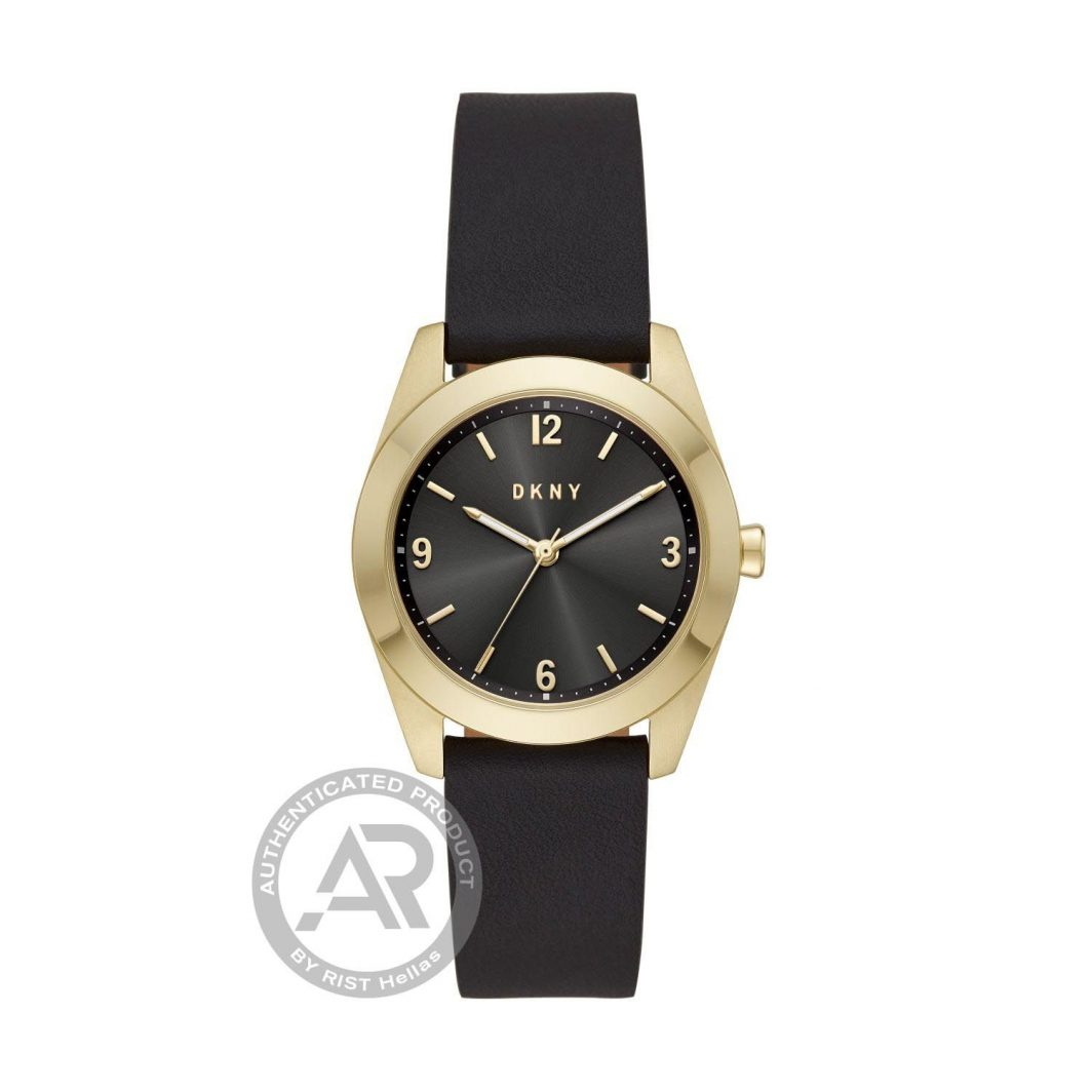 Dkny Nolita Black Leather Strap NY2876