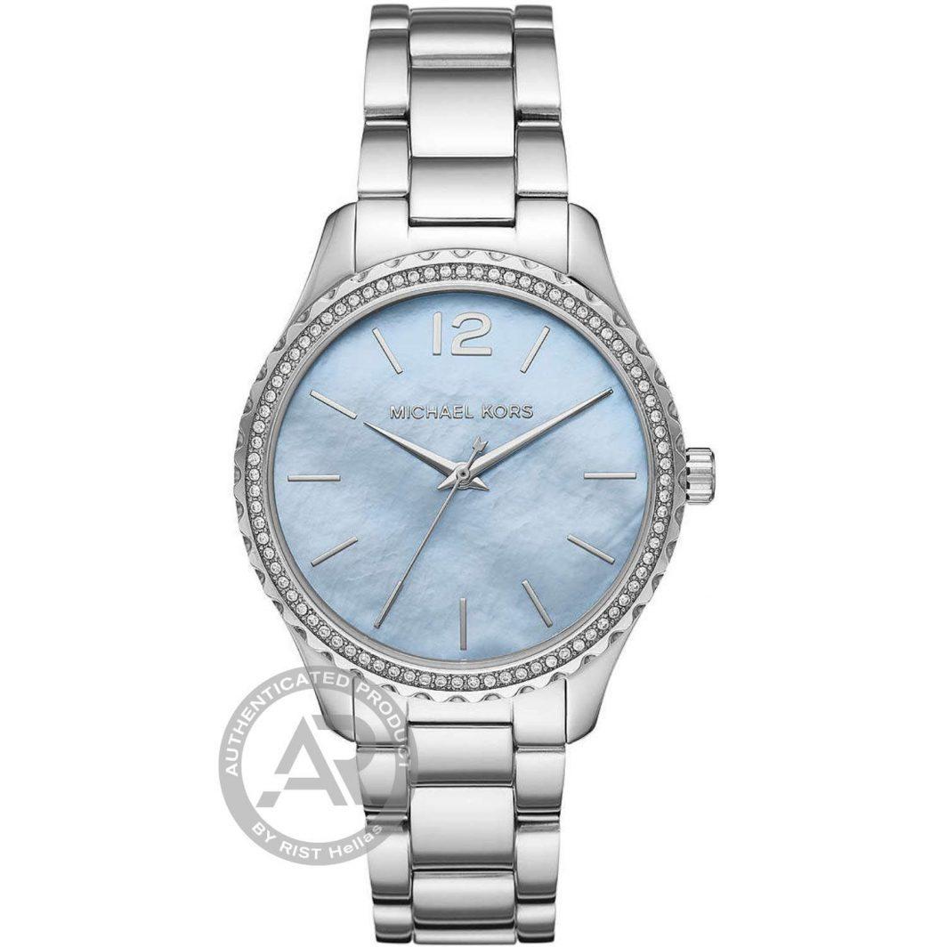 Michael Kors Layton Crystals Stainless Steel Bracelet MK6847