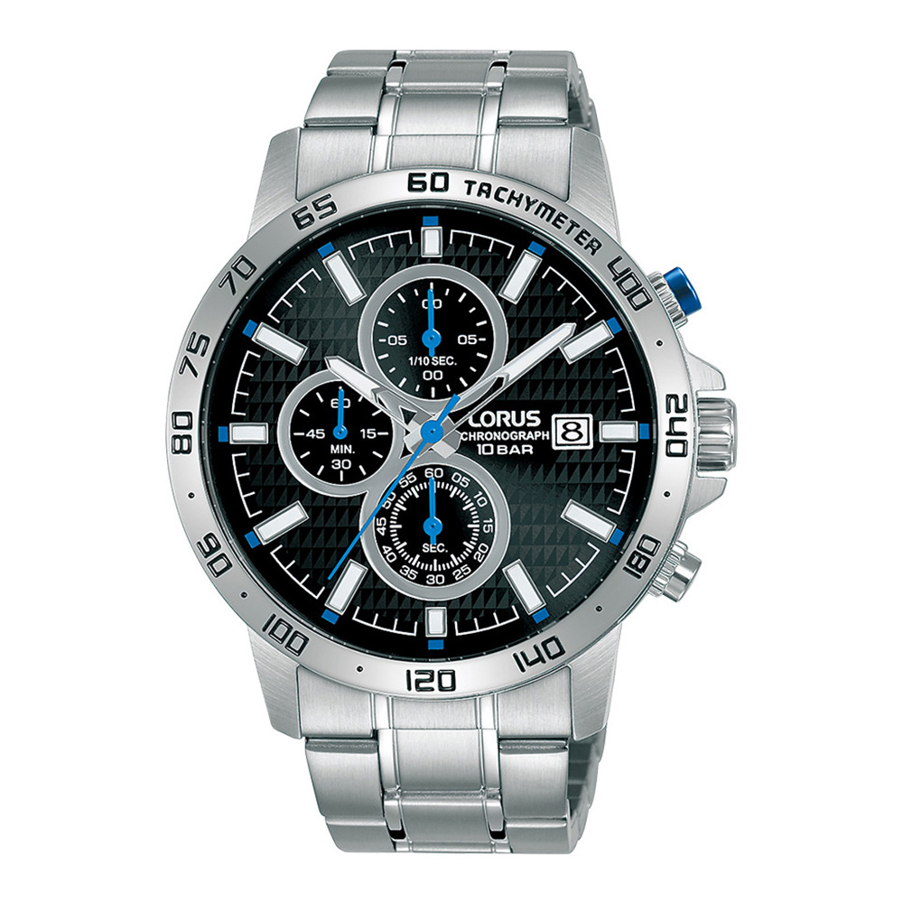 Lorus Sports Chronograph Stainless Steel Bracelet RM305GX5